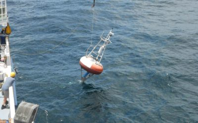 The first PIRATA system has been recovered after one year of deployment.