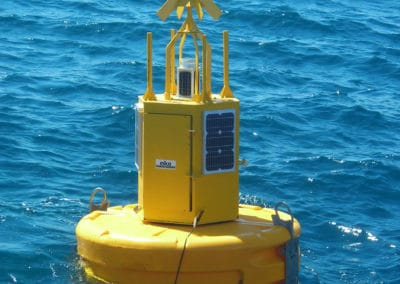 Profiling Buoy: meteorological parameters monitoring