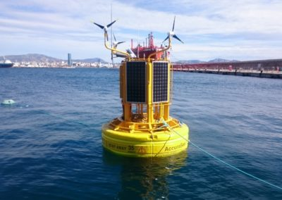 Accurasea Buoy: weather-oceanographic buoy