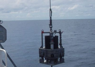 Piezometer: Deep sea sediment pore pressure monitoring