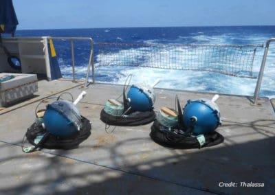 SC40 – SVP BRST: Sea surface temperature and depth measurement