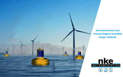 Offshore wind farm in the Bay of Saint-Brieuc: NKE Instrumentation offers its skills at the service of MREs