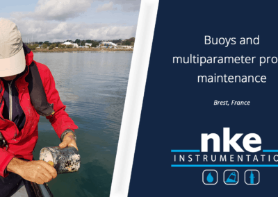 Buoys and multiparameter probe maintenance in Brest